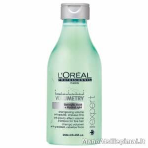 Apimties plaukams suteikiantis šampūnas