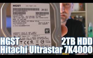 HITACHI ULTRASTAR 7K4000 HDD